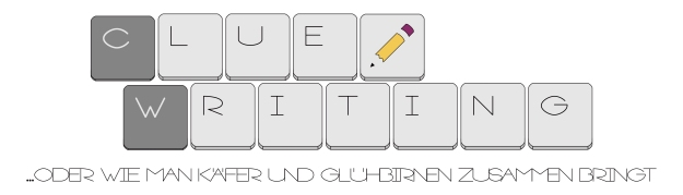 Clue Writing Logo
